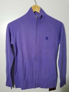 1 NWT PETER MILLAR WOMEN'S CASHMERE SWEATER, SIZE: SMALL, COLOR: PURPLE (J92)