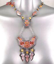 Accessorize Enamel Alloy Costume Necklaces & Pendants