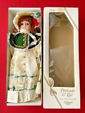 """Gorham Petticoats & Lace Second Annual Christmas Doll """"Angela"""" VT907"""