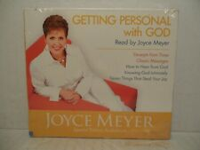 Getting Personal with God by Joyce Meyer (3 CD Special Edition Audiobook) NEW!