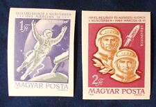 Hungary SC#C251-2 MH IMPERF 1965 Space Flight