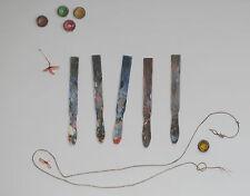 Original aquarelle par HERMES FERRAGAMO foulard Designer Leigh P Cooke
