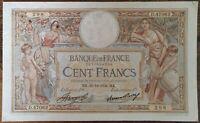 Billet 100 francs LUC OLIVIER MERSON 20 = 12 = 1934 FRANCE D.47062
