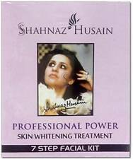 Shahnaz Husain Ayurveda Power 7 Step Facial Kit Skin Whitening Treatment