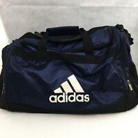 Adidas Duffel Gym Bag Fresh PAK Black Nylon Sports Bag Carry On Travel 20 x 14