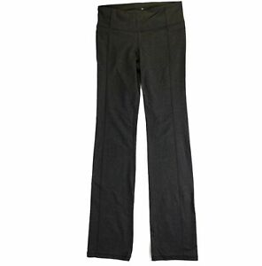 Athleta Womens Sz S Straight Up Pant Heather Gray 919179 Workout Pants Yoga