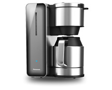 Panasonic Premium Coffee Maker NC-ZF1H - 8 Cups Stainless Steel Anti Drip