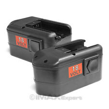 2 x New 18V 18 Volt Battery for Milwaukee 48-11-2230