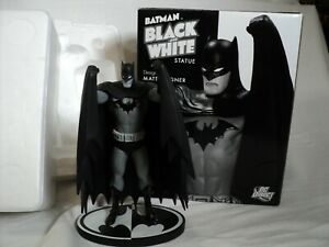 "DC Direct Batman Black and White 7.75"" Statue, Matt Wagner 1237/4500 (Toy 152)"