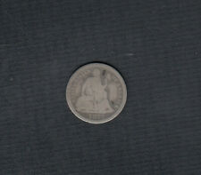 1875 U.S 10 CENTS SILVER COIN