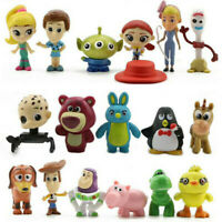 Toy Story Woody Dinosaur Aliens Bulleye Jessie 17 PCS Action Figure Kid Gift Toy