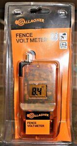 Gallagher Pocket Size Fence Volt Meter #G503014