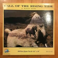 SunsOut Puzzle CALL OF THE RISING TIDE by Robert Vavra - Horses
