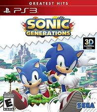 Sonic Generations Ps3 Playstation 3