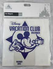 Disney Parks Vacation Club Member Since Year Car Magnet Decal Mickey Mouse - New