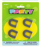 SUPER STRONG MAGNETS PACK OF 4 BIRTHDAY PARTY LOOT BAG FILLER TOY GIFT