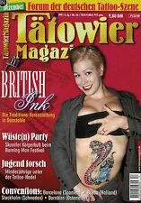 Tätowier Magazin 12/1999 Dezember,Wikinger Motive,Sean Ozz,Primal Urge,S Wiegand