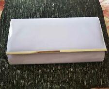 Ladies Patent Clutch Bag Envelope Evening Handbag Oversized Party Wedding Purse