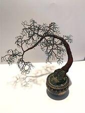 Cascade #1 Wire Tree Sculpture by Sal Villlano