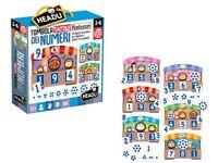 Tombola dei numeri, Tattile Montessori, HEADU, (3-6 anni) per imparare quantità