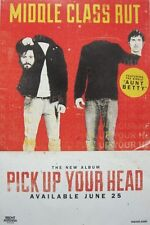 MIDDLE CLASS RUT 2013 PICK UP YOUR HEAD promotional poster ~NEW~MINT~!