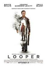 """LOOPER  Movie Poster [Licensed-New-USA] 27x40"""" Theater Size Bruce Willis"""