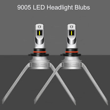 2x HB3 9005 LED Headlight Bulb Conversion Kit High Beam 255000LM 1500W Fit Ford