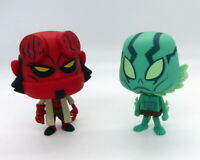 Duo de figurines Hellboy et Abe Sapien collection Vynl par Funko