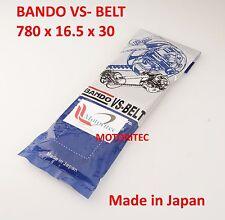 Bando CVT Belt 780 16.5 30 for Eton E-Ton 2T ATV Thunder AXL 90 TXL 90 US