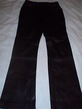 Woman's Black Wilson's Genuine Leather Motorcycle Riding Pants Size 4 LN