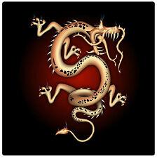 dragón chino - Posavasos - Juego de 4 Diversión - REGALO/Regalo - NUEVO