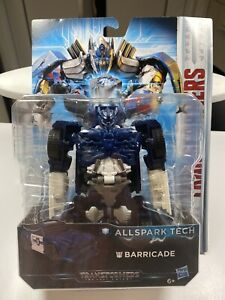Transformers C3420ES0 - Movie 5 All Spark Tech Barricade, Actionfigur