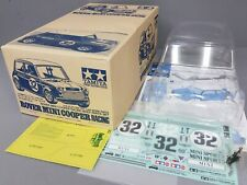 "Tamiya 50795 1/10 Rover Mini Cooper Racing Body Part Set M-Chassis ""Please Read"""