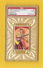 Elvis Presley Rare 1950 Shipton Card #3 PSA 9 MINT Have a Look!