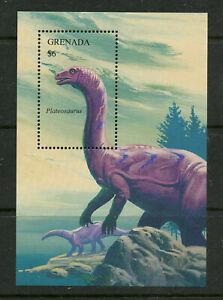 Dinosaur MNH Souvenir Sheet 1994 Grenada #2314 Plateosaurus