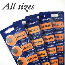 Sony CR2450 Lithium 3V Batteries Coin Cell
