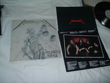 METALLICA ...And Justice for All '88 2LP cultic ORIGINAL 1st press IMPORT !!!!