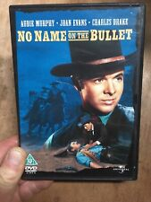 No Name On The Bullet-Audie Murphy(R2 DVD)1959 Western Hired Gun Jack Arnold