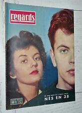 REGARDS N°430 1958 NES EN 1938 DELINQUANCE GUERRE ALGERIE JEUNE NATION DEVOS