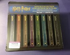 Harry Potter 8-Film Collection Blu-ray Disc *Limited Steelbook Package* NEW