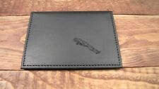 licence ID holder it126 Mini Cooper logo Black Leather wallet credit card size