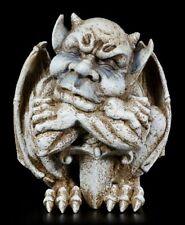 Gargoyle Gartenfigur mit Schwert - Fantasy Greif Deko Speier Figur Garten