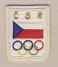 1950´s CZECHOSLOVAK Olympic Team PATCH Czechoslovakia NOC OLYMPIC GAMES Olympics