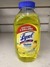 Lysol Clean Fresh Multi Surface Cleaner, Lemon & Sunflower - 10.75oz