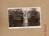 Postcard Leeds Roundhay Park Waterfall Real Photo posted 1923  Ao1