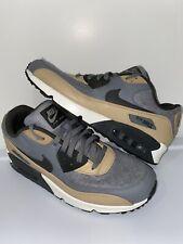 Nike Air Max Premium 90 700155-010 Wool Cool Grey Mushroom Shoes Men's Size 11