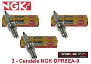 4929 - 3 CANDELE NGK DPR8EA-9 per TRIUMPH Thunderbird Sport 900 dal 1998 >2004