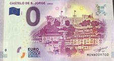 BILLET 0 EURO SOUVENIR CASTELO DE S. JORGE PORTUGAL 2018-1 NUMERO 9700