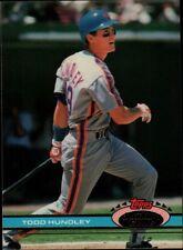 Topps 91 #349 - New York Mets - Todd Hundley
