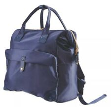 Mamia Baby Changing Backpack with Bottle Holder & Changing Mat - Navy